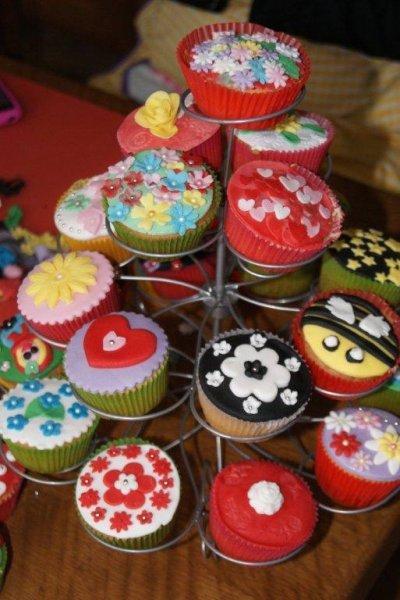 resultaat cupcake workshop