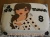 Topmodels cake