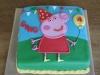 Peppa big cake