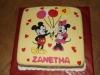 mickey en minnie cake