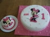 minnie cake/taart